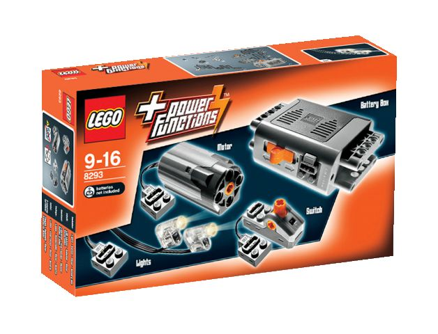 8293 LEGO Technic Power Functions motorkészlet