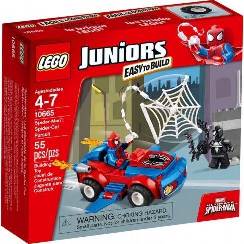 10665 LEGO® Juniors Pókember™: Pókautó támadás