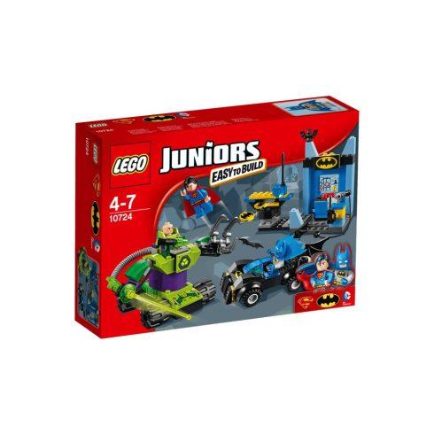 10724 LEGO® Juniors Batman™ és Superman™ Lex Luthor™ ellen
