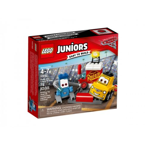 10732 LEGO® Juniors Guido és Luigi boxutcája