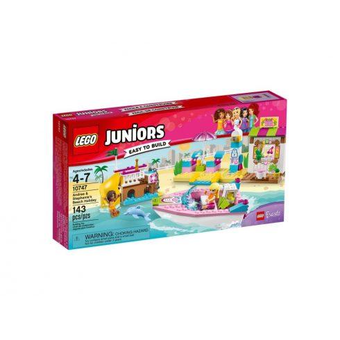 10747 LEGO® Juniors Andrea és Stephanie tengerparti nyaralása