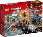 10760 LEGO® Juniors Hihetetlen család - Aláásós bankrablás