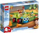 10766 LEGO® Toy Story 4 Woody és az RC