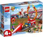 10767 LEGO® Toy Story Duke Caboom kaszkadőr bemutatója