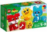 10858 LEGO® DUPLO® Első házikedvencek kirakóm