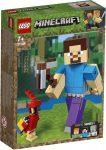 21148 LEGO® Minecraft™ Minecraft™ BigFig Steve papagájjal