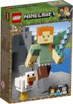 21149 LEGO® Minecraft™ Minecraft™ BigFig Alex csirkével
