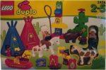 2436 LEGO® DUPLO® A nagyfőnök tábora