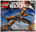 30278 LEGO® Star Wars™ Poe X szárnyú vadász gépe
