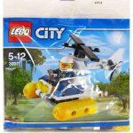 30311 LEGO® City Mocsári rendőrségi helikopter