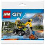 30350 LEGO City Vulkán légkalapács
