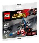 30447 LEGO® Super Heroes Amerika kapitány motorbiciklije