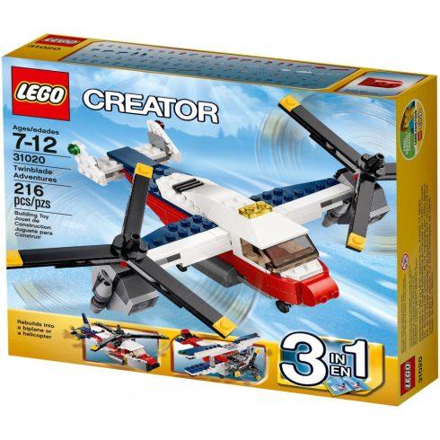 31020 LEGO® Creator Dupla légcsavaros repülő