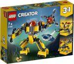 31090 LEGO® Creator Víz alatti robot