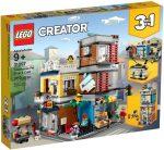 31097 LEGO® Creator Városi kisállat kereskedés és kávézó
