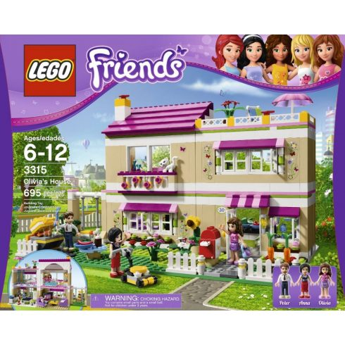 3315 LEGO Friends Olivia háza