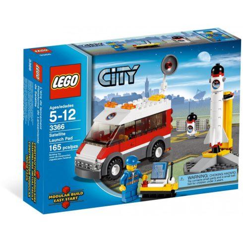 3366 LEGO® City Műholdkilövő állomás