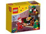 40125 LEGO® Szezonális készletek Télapó látogatása