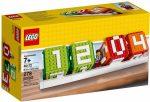 40172 LEGO® Kiegészítők Ikonikus kocka naptár