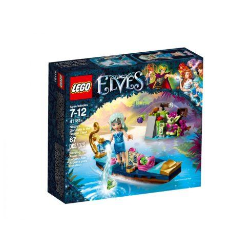 41181 LEGO® Elves Naida gondolája és a tolvaj manó