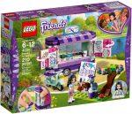 41332 LEGO® Friends Emma festõállványa