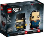41610 LEGO® Brickheadz Taktikai Batman™ és Superman™