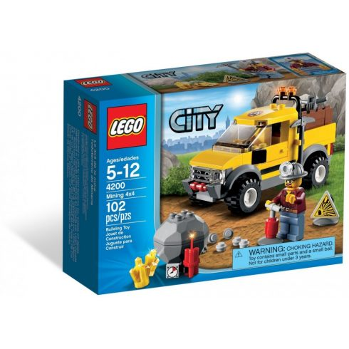4200 LEGO® City 4x4-es bányagép