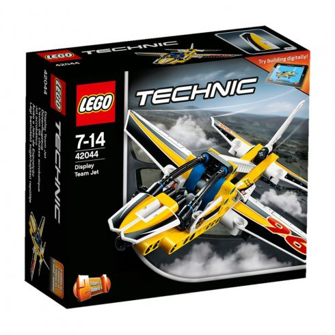 42044 LEGO® Technic™ Légi bemutató sugárhajtású repülője