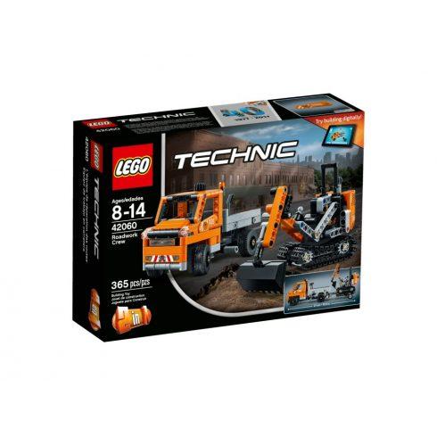 42060 LEGO® Technic™ Útépítő gépek