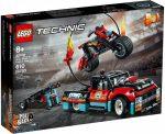 42106 LEGO® Technic™ Kaszkadőr teherautó és motor