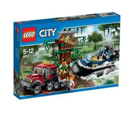 60071 LEGO® City Légpárnás hajós letartóztatás