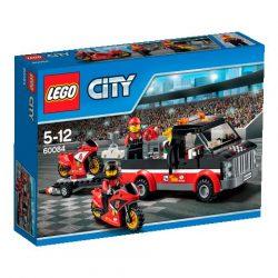 60084 LEGO® City Versenymotor-szállító kamion