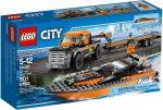 60085 LEGO® City 4x4-es motorcsónak szállító