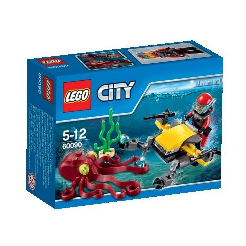 60090 LEGO® City Mélytengeri búvárrobogó