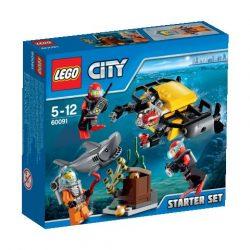 60091 LEGO® City Mélytengeri kezdőkészlet
