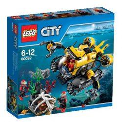 60092 LEGO® City Mélytengeri tengeralattjáró