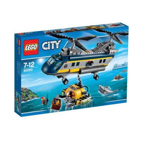 60093 LEGO® City Mélytengeri helikopter