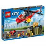 60108 LEGO® City Sürgősségi tűzoltó egység