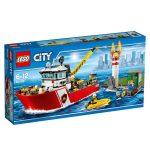 60109 LEGO® City Tűzoltóhajó