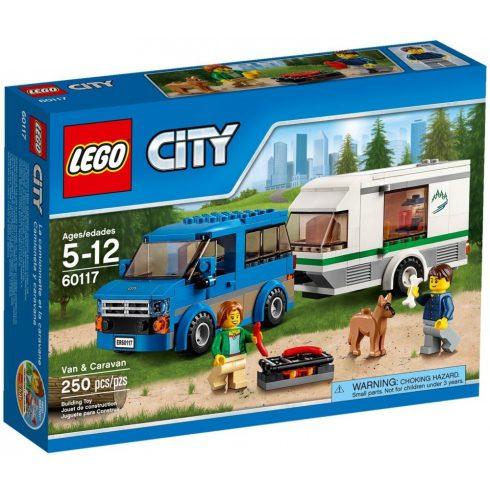 60117 LEGO® City Furgon és lakókocsi