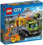 60122 LEGO® City Vulkánkutató lánctalpas jármű