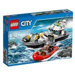 60129 LEGO® City Rendőrségi járőrcsónak