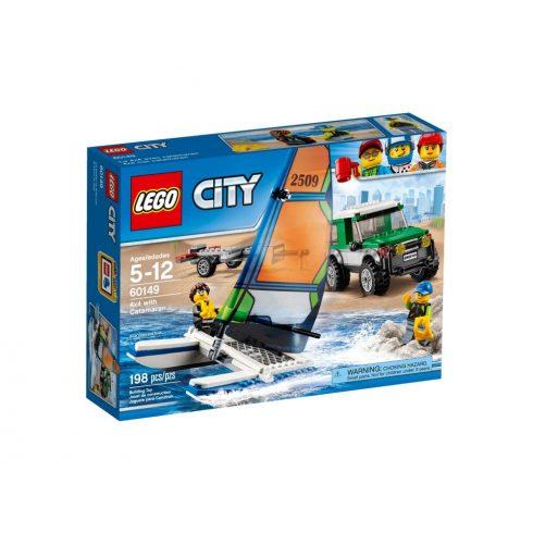 60149 LEGO® City 4x4 terepjáró katamaránnal