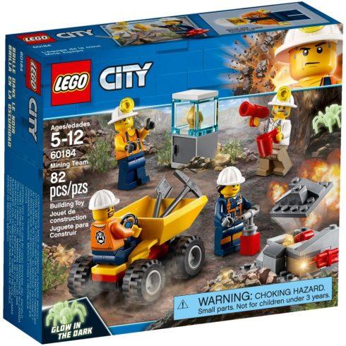 60184 LEGO® City Bányászcsapat