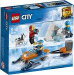 60191 LEGO® City Sarkvidéki expedíciós csapat