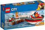 60213 LEGO® City Tűz a dokknál