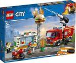 60214 LEGO® City Tűzoltás a hamburgeresnél