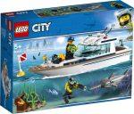 60221 LEGO® City Búvárjacht
