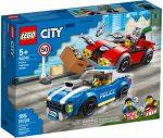 60242 LEGO® City Rendőrségi letartóztatás az országúton