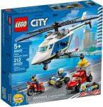 60243 LEGO® City Rendőrségi helikopteres üldözés